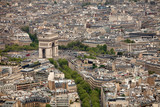 Elevated view over Paris - 222561731