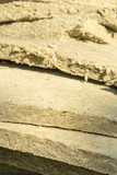 Mineral wool. Material for insulation of buildings. - 222562126