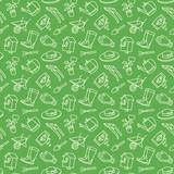 Garden icon tool pattern - 222581948