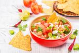 Mexican Pico de Gallo salsa - 222608505