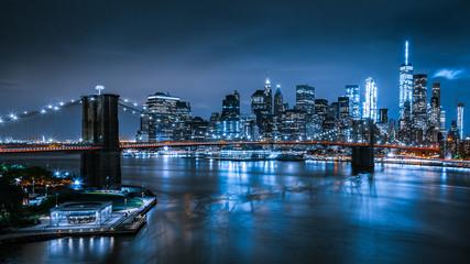 New York Skyline at night