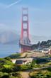 Leinwanddruck Bild - Golden Gate Bridge, San Francisco, California