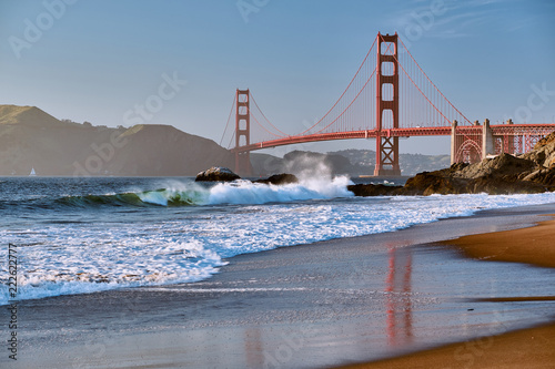 Golden Gate Bridge, San Francisco, California - 222622777