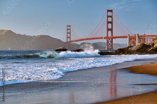 Foto Murales Golden Gate Bridge, San Francisco, California