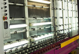 Production of PVC windows and double-glazed windows, a line for washing and drying glass for the production of insulating glass units, machine - 222657949