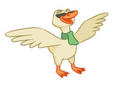 Funny goose is welcomed - 222674761