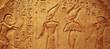 Leinwanddruck Bild - Ancient Egypt hieroglyphs