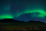 Northern Lights in Lofoten, Norway - 222688990