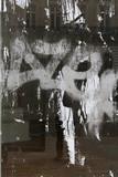 Distressed urban glass texture - 222689792