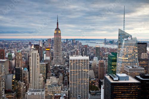 Foto Murales Cityscape of Manhattan, New York, USA
