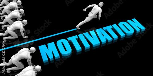 Fototapeta Superior Motivation