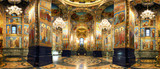 Interior of the Church of the Savior on Spilled Blood in St. Petersburg, Russia - 222744958