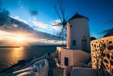 Oia village, Santorini island, Greece - 222757124