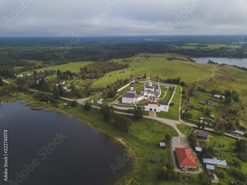Ferapontov Monastery. Vologda. Russian landscape - 222760178