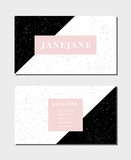 Business Card Template - 222768317