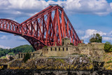 Inchmickery and Forth Bridge