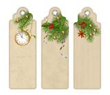 Vector Christmas Bookmark - 222771711