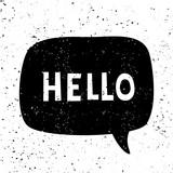 Hello Retro Typographic Design - 222771780