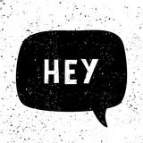 Hey Retro Typographic Design - 222773921