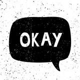 Okay Retro Typographic Design - 222774582