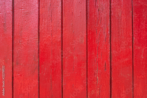 red wooden background - 222781122