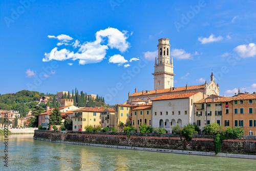 mata magnetyczna Verona vista dal fiume