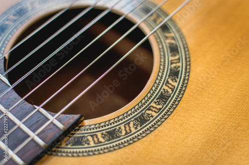 Spanish Guitar and Strings - 222795732