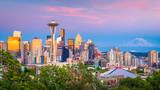 Seattle, Washington, USA Skyline - 222800546