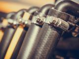 Industrial detailed pneumatic, hydraulic steel pump - 222828796