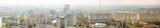 Panoramic view of Bratislava with modern apartment buildings
