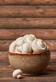 Fresh mushrooms bowl - 222834522