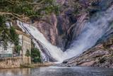 Ezaro, A Coruna, Galicia, Spain: Ezaro waterfall - 222840588