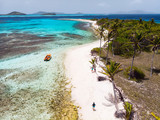 Top view of Tobago cays - 222853100