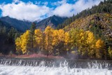 Cascade Mountains in Autumn