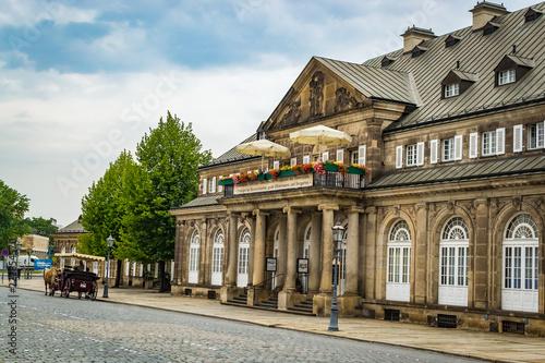 Foto Murales Historical Building in Dresden, Germany