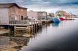 Peggy's Cove wharf, Nova Scotia