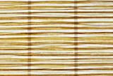 extreme abstract close-up of a reed mat in longitudinal direction
