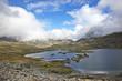 Mountain lake view. Jotunheimen National Park. Norway - 222895103