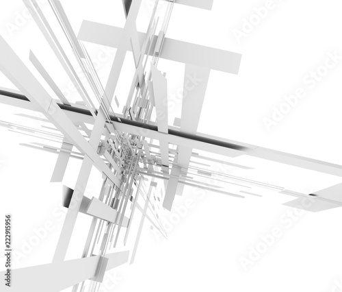 抽象的な空間 - 222915956