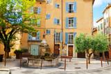 Medieval Village Cotignac Provence France, domestic housing