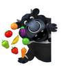 Black bull - 3D Illustration - 222926127