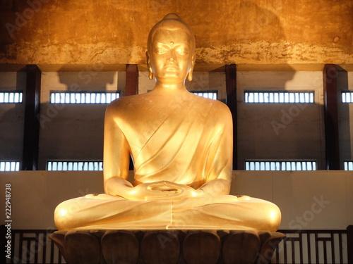 Fridge magnet Bouddha du bois de Vincennes - Paris