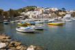 Quadro Acqua cristallina nel porto dell'isola di Ponza