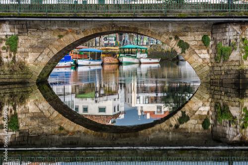 Fototapeta Puente Viejo de Betanzos
