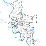 Duesseldorf Bezirke - 3 - 222969963