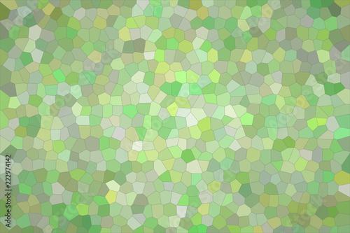Abstrakcjonistyczna ilustracja srebny i zielony jaskrawy Mały sześciokąta tło, cyfrowo wytwarzający.