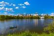 Leinwanddruck Bild - Izmailovo Kremlin and lake - Moscow Russian