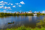 Izmailovo Kremlin and lake - Moscow Russian - 222979129