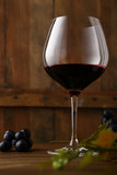 Glass of red wine - 222994326
