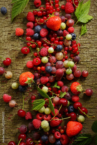 Foto Murales  Summer berries mix